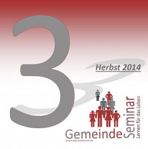 Gemeinde-Seminar Herbst2014 Cover