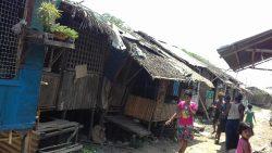 Slum in der Nähe