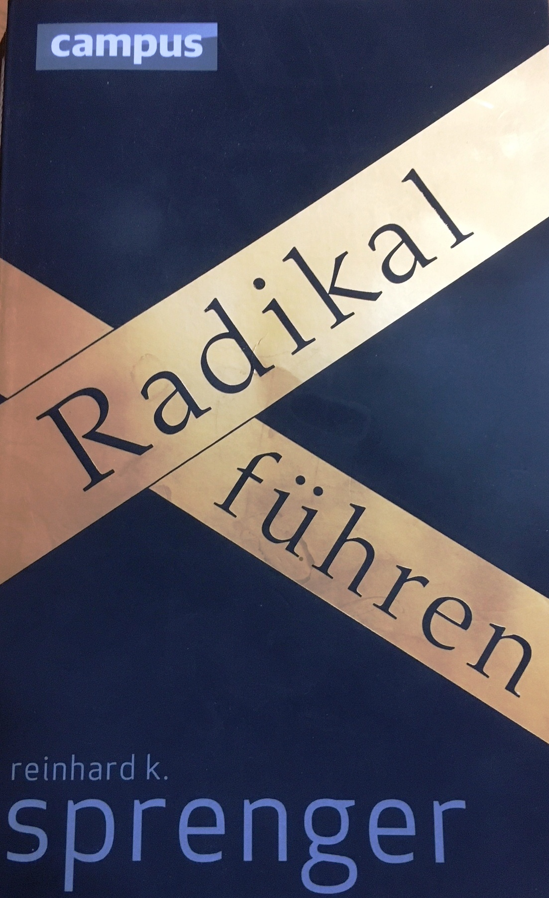 Sprenger radikal fuehren